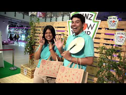 Heinz Grow Your Own Campaign at Siam Square One - 14 Sept 2017