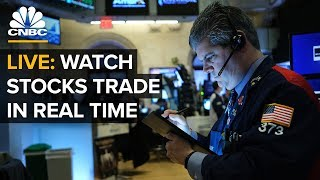 LIVE: Watch stocks trade in real time after Fed cuts rates to combat coronavirus slowdown – 3/3/2020