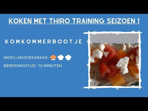Kook Video #6 Komkommerbootje