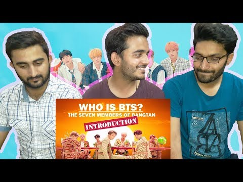 Reaction On: Who Is BTS?: The Seven Members Of Bangtan (INTRODUCTION) Part 3