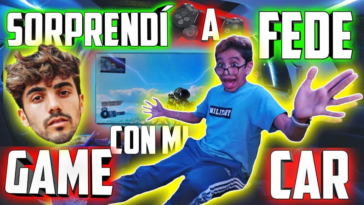 SORPRENDI A FEDE CON MI GAMECAR! | Soy Carlitos