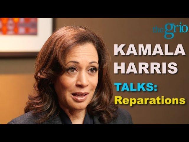 KAMALA HARRIS SAYS NO TO REPARATIONS VIDEO LOSES DEMOCRATIC MOMENTUM