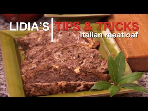 Homemade Italian Meatloaf Recipe