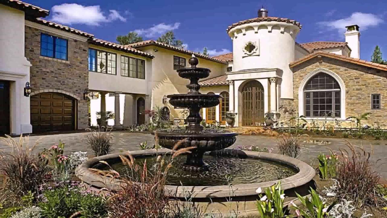 spanish house style architecture youtube