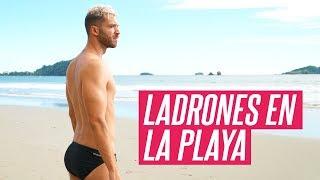 LA PLAYA LLENA DE MONOS LADRONES 🐒 [COSTA RICA] | enriquealex