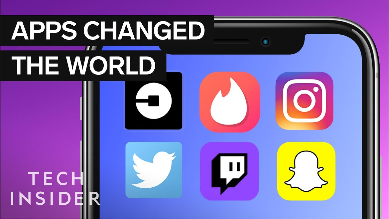 Most Influential Apps of the Decade