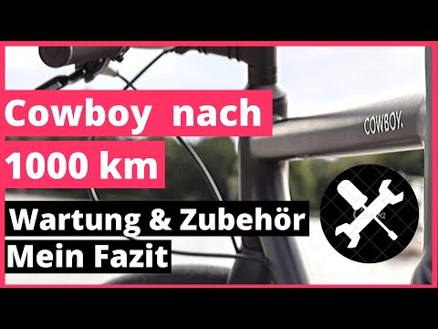 Cowboy E-Bike nach