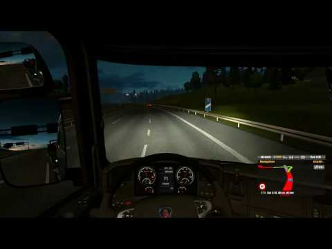 ETS2 Timelapse - Sweden to Germany in Scania