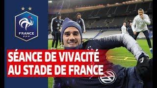 Vivacité au Stade de France, Equipe de France I FFF 2019