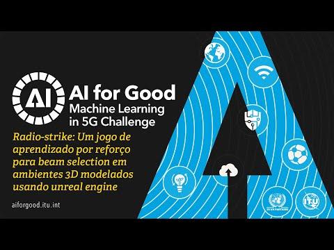 Um jogo de aprendizado por reforço para beam selection em ambientes 3D | AI/ML IN 5G CHALLENGE