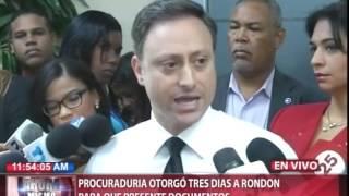 Ángel Rondón confirma recibió aproximadamente US$92 MM de Odebrecht