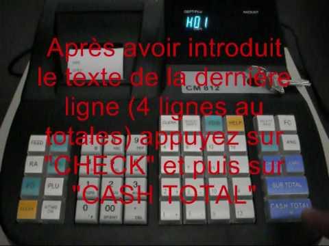 Mode D 39 Emploi Acropaq Cr812 Cr 812 Olympia Cm811 Cm812 Youtube