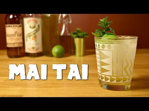 Mai Tai - How to Make the Classic Tiki Drink & the History Behind It