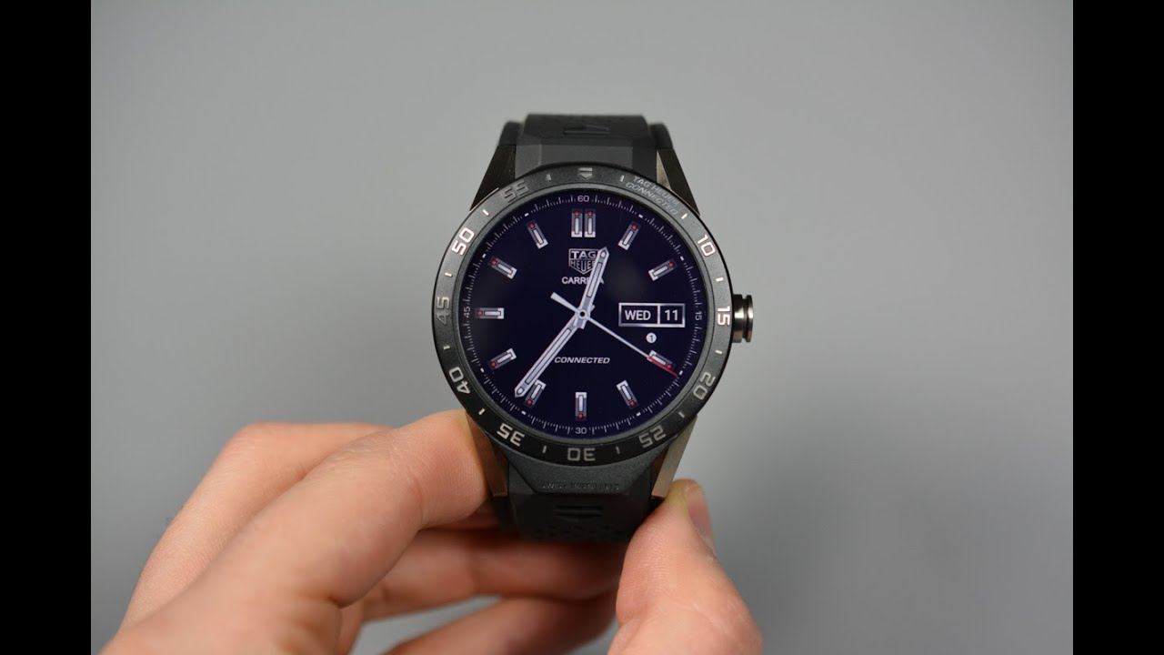 33a17f446d3 TAG Heuer Connected Unboxing and Tour! - YouTube