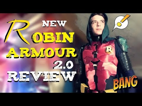 Robin Arkham Knight Armour | Review