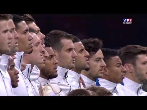 17.11.2015 - Angleterre France - Hymne National/National Anthem (Football)