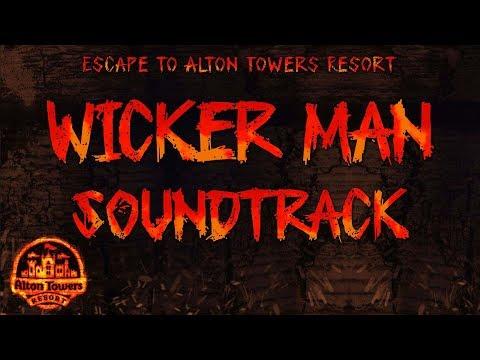 Alton Towers - Wicker Man Soundtrack