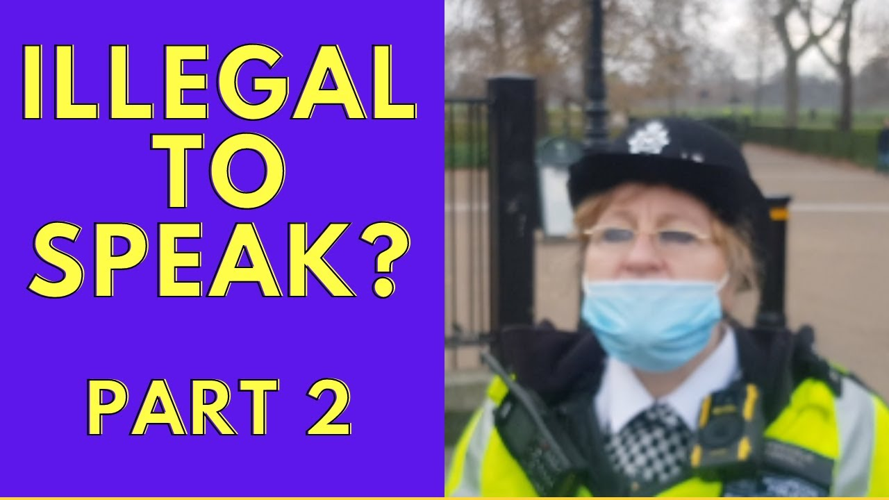 IS IT ILLEGAL TO SPEAK AT SPEAKERS CORNER - PART 2