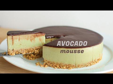 Chocolate Avocado Mousse Cake Recipe [No-Bake] Kue Alpukat