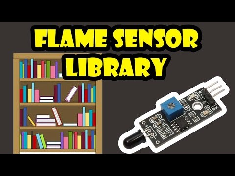 Flame Sensor Library for Proteus - The Engineering Projects