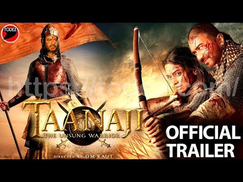 tanaji:-warrior-official-trailer- -ajay-devgan,-kajol,-saif-ali-khan,-jagapathi-babu,trailer-details