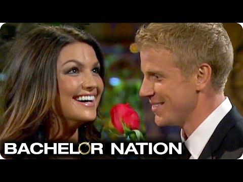 Love At First Sight? Sean Gives Rose At Limo Arrival! | The Bachelor US