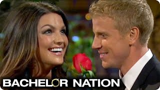 Sean Gives First Rose And Causes MAJOR Drama! | The Bachelor US