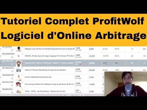 Tutoriel Complet de ProfitWolf - Logiciel d'Online Arbitrage