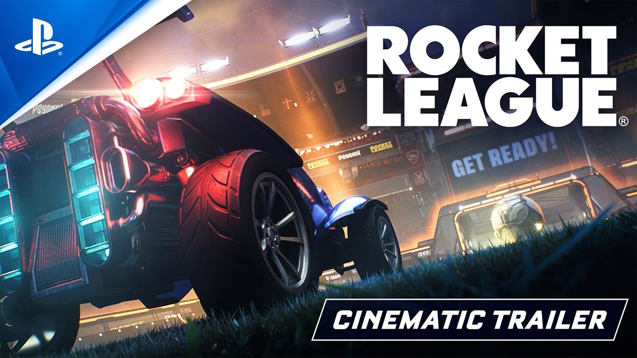 Rocket League: tráiler cinemático juego gratuito | PS4