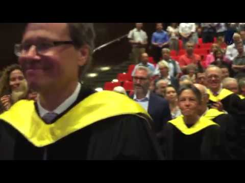 Honorary Doctorate Conferment Ceremony 2017 Technion
