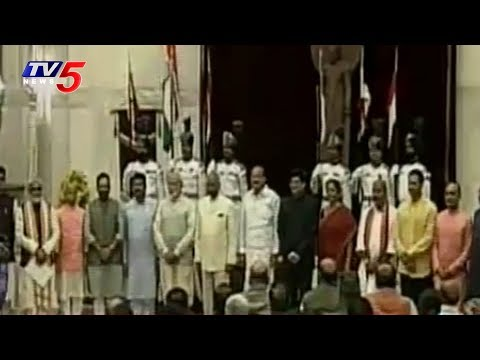 Modi's New Cabinet Ministers Oath Taking Ceremony Ends | TV5 News