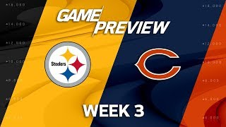 Pittsburgh Steelers vs. Chicago Bears | Week 3 Game Preview | NFL