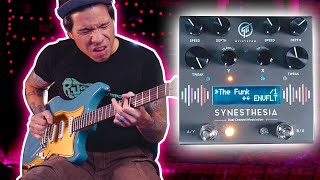 GFI System SYNESTHESIA Dual Channel Modulation pedal - demo by RJ Ronquillo