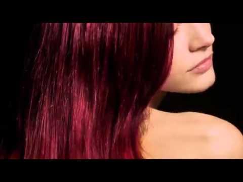 Окрашивание красителем INOA - YouTube