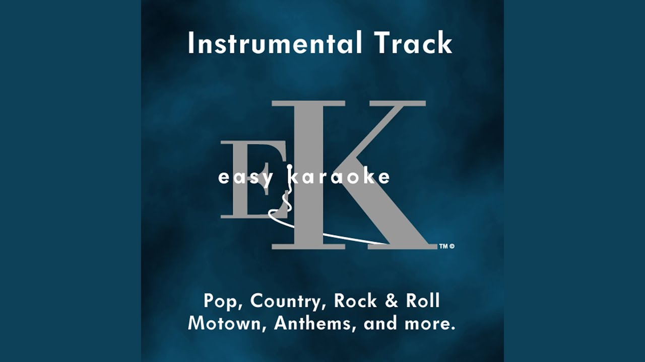 Karaoke track background music
