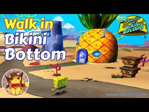 Walk in Bikini Bottom – SpongeBob Battle for Bikini Bottom Gameplay [1080p]