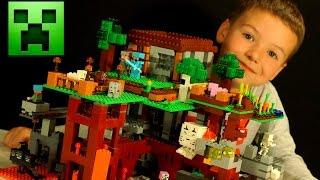 Кока Все Серии - Лего Майнкрафт 2016 + Мультики - Видео Обзор на русском. Lego Minecraft