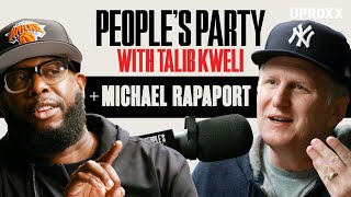 YouTube動画:Talib Kweli & Michael Rapaport Talk Ashy Ankles Controversy, N-Word, ATCQ, Hip-Hop | People's Pary