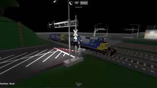 Roblox Railfanning Episode 1 (CSX Fort Al, FL)