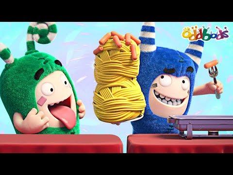 Oddbods   Food Famished #3   Funny Cartoons For Children