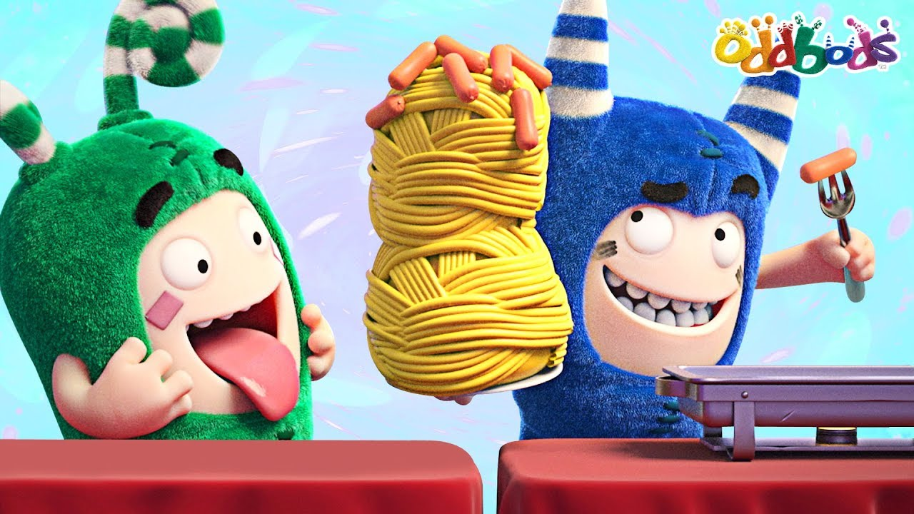 Oddbods | Food Famished #3 | Funny Cartoons For Children
