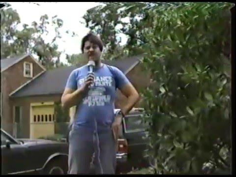 Hurricane Gloria 9/27/85 Live From Bay Shore