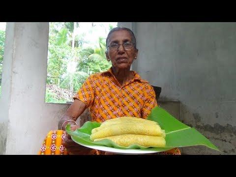 Village Food – Easy Homemade Pancake by Grandma / Village Life