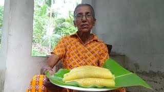 Village Food – Easy Homemade Pancake by Grandma / Village Life