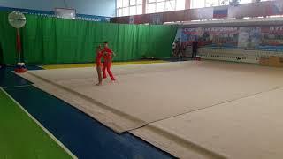 Спортивная акробатика смешанная пара Севастополь 2018