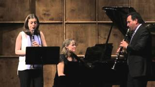 Concert Piece No. 2 in D minor, Op.114 for Two Clarinets and Piano (Mendelssohn)