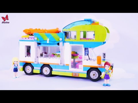 New Lego Friends Mia Camper Van 41339 Building And Unboxing Play