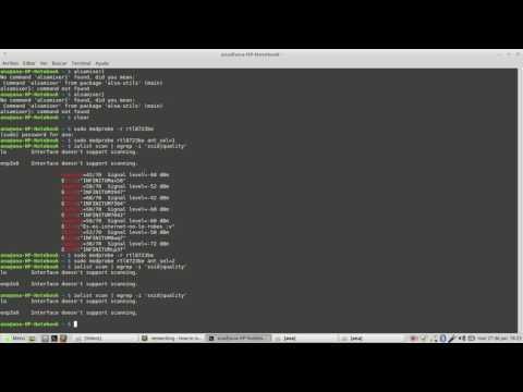 Arreglar señal wifi en computadora HP con chip rtl8723be en linux mint 18