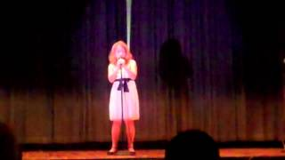 """Chloe (9 years old) singing """"Someone like you"""" at her school Talent Show"""