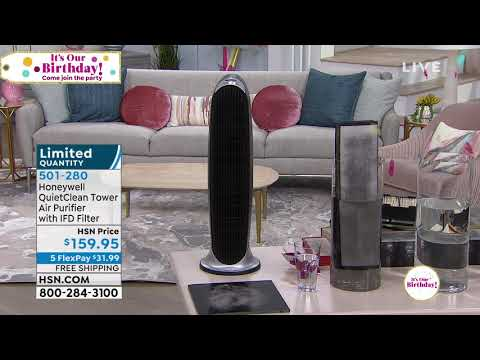 Honeywell QuietClean Tower Air Purifier with IFD Filter